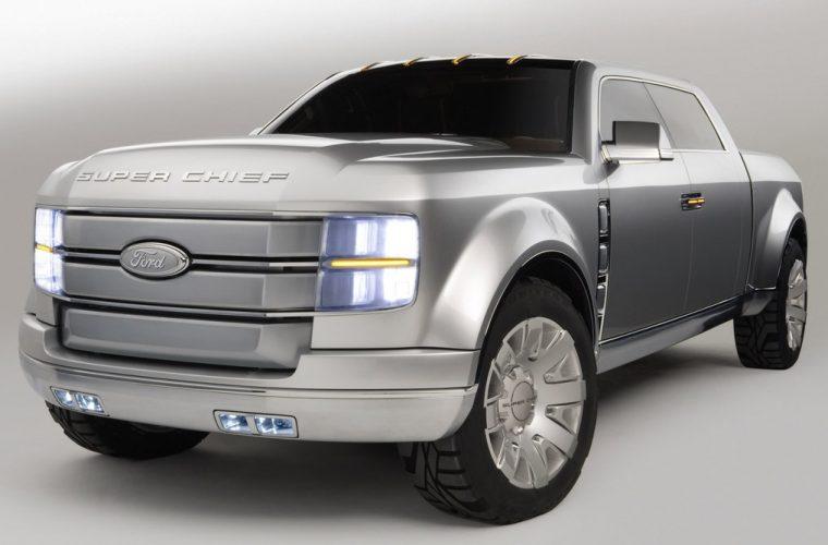 """Prawdziwy amerykański truck – Ford F-250 """"Super Chief"""""""