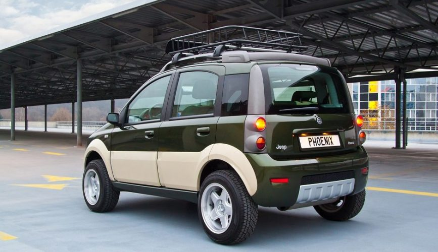 Chrysler + Fiat = Jeep Panda?