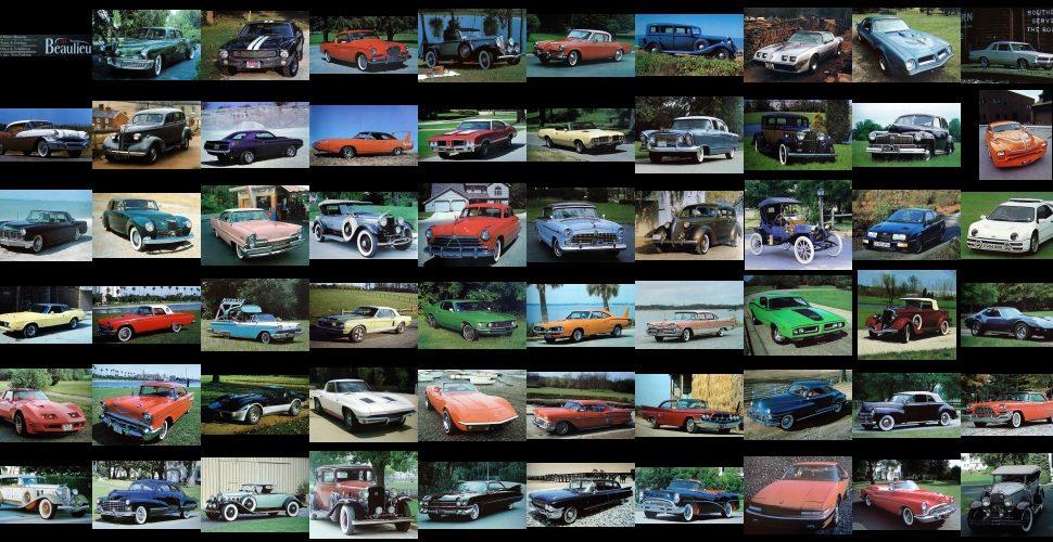 Samochody marzeń w Beaulieu